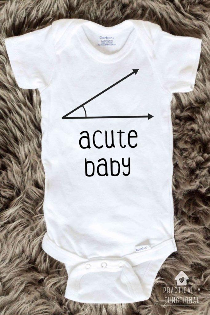 Cute And Cuddly Fashion Diy Baby Onesies