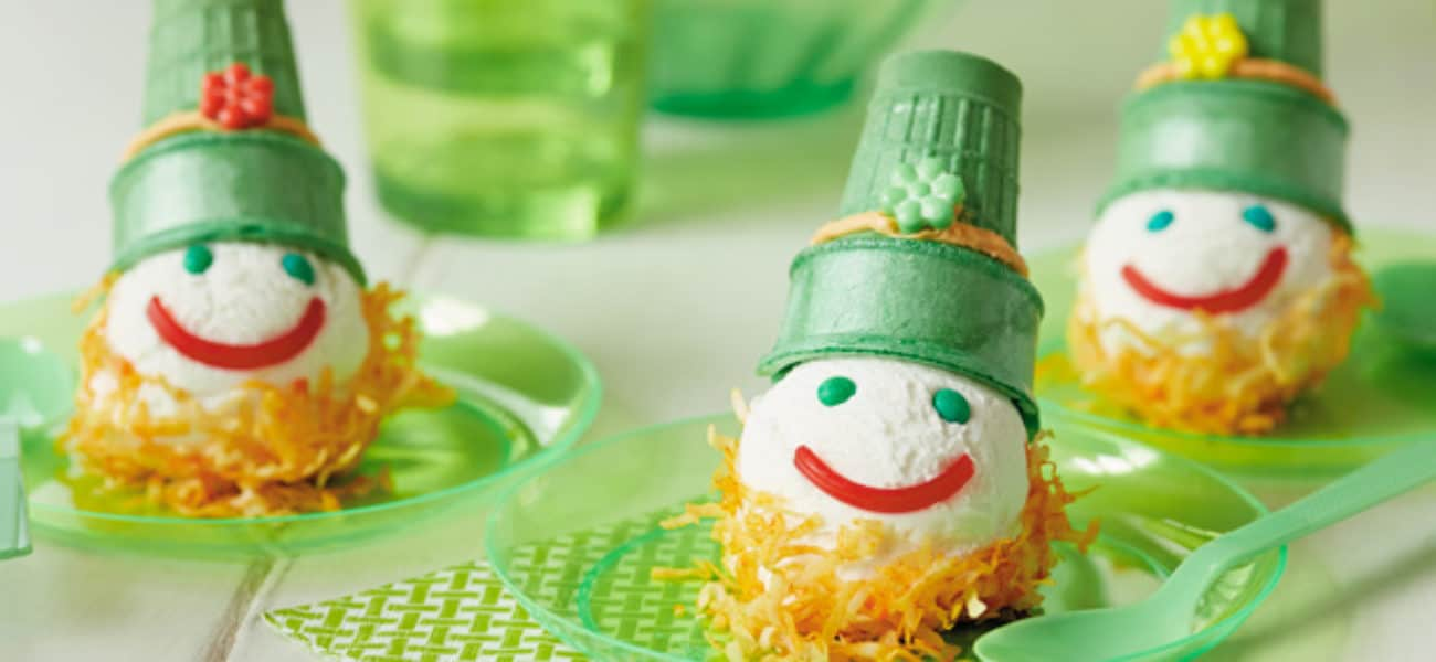 DIY St Patrick's Day Menu, Party Foods, and School Snacks