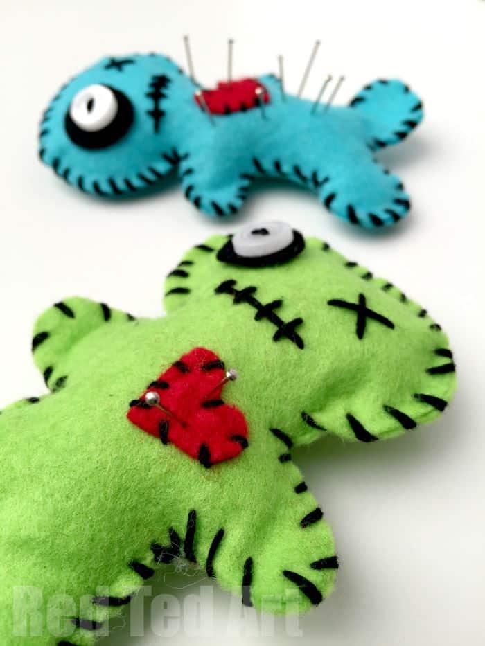 Voodoo pin cushion