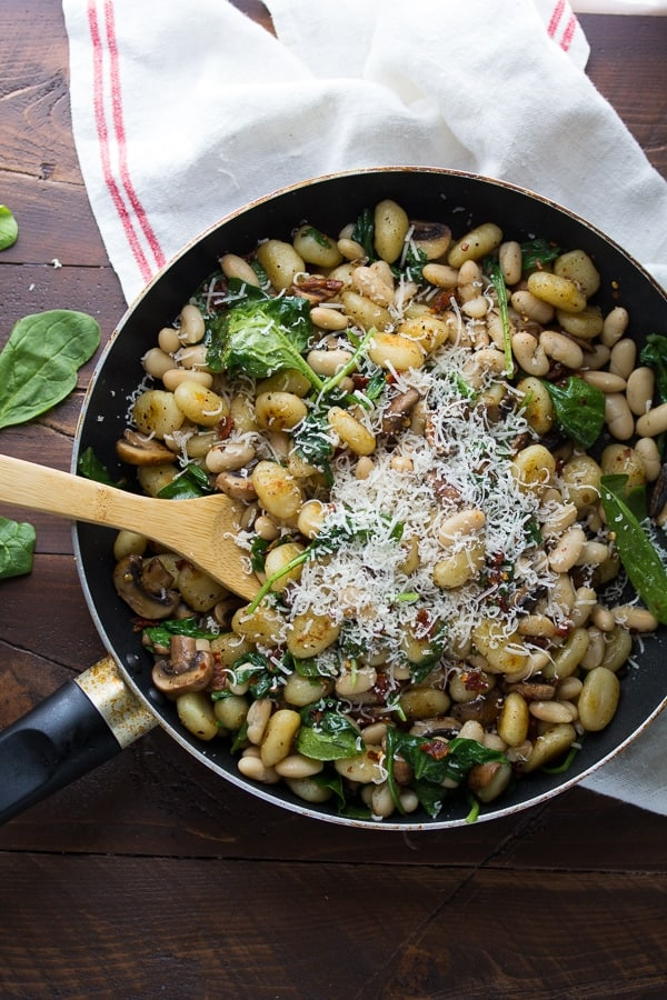White bean gnocchi
