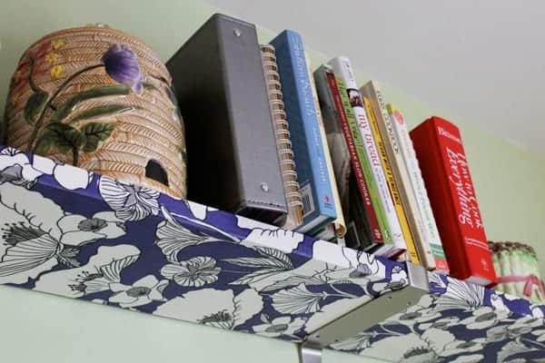 Decoupage shelves
