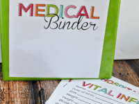 Medical binder 200x150 Must Have DIY Family Binders for an Organized Household