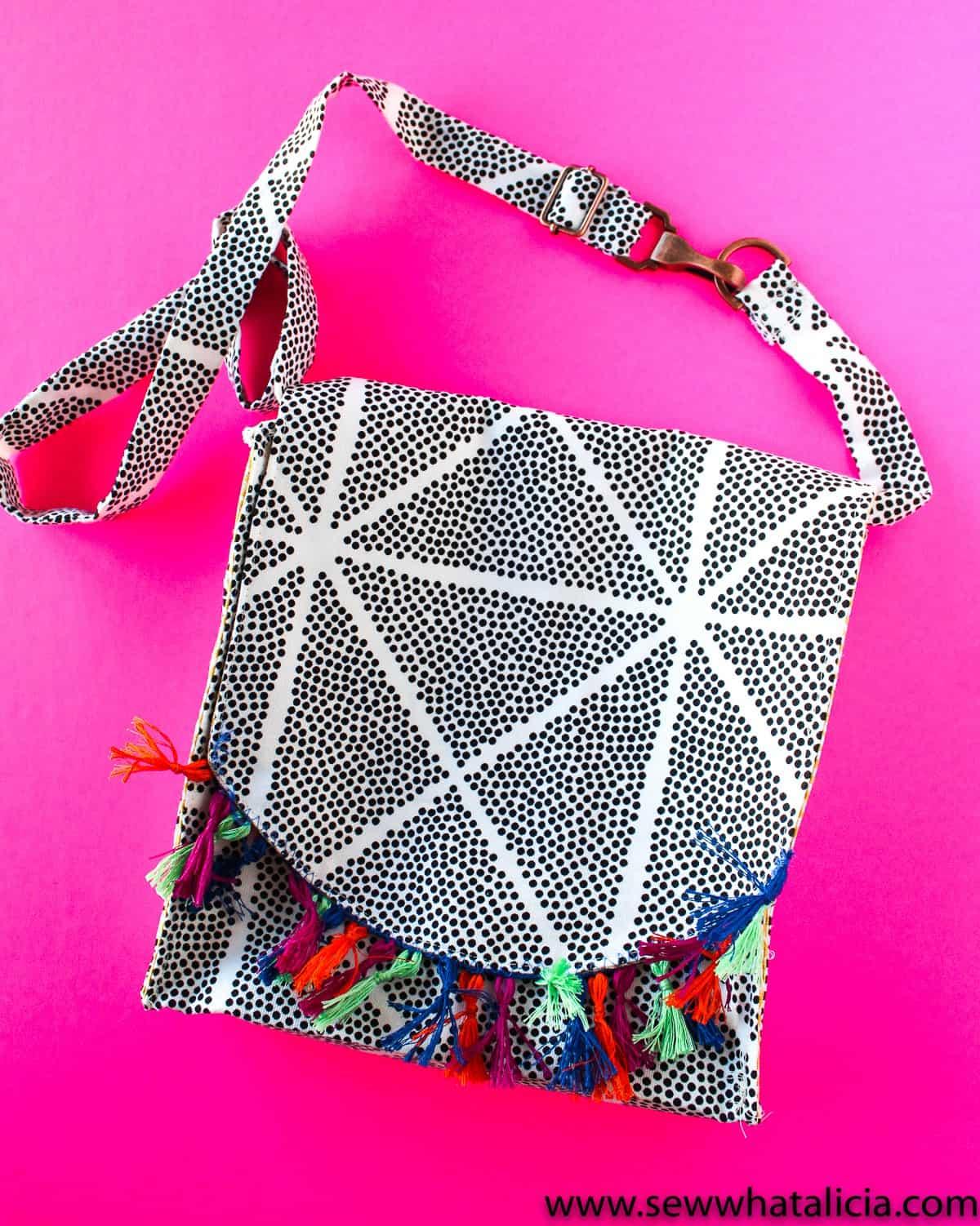 Messenger cross-body bag