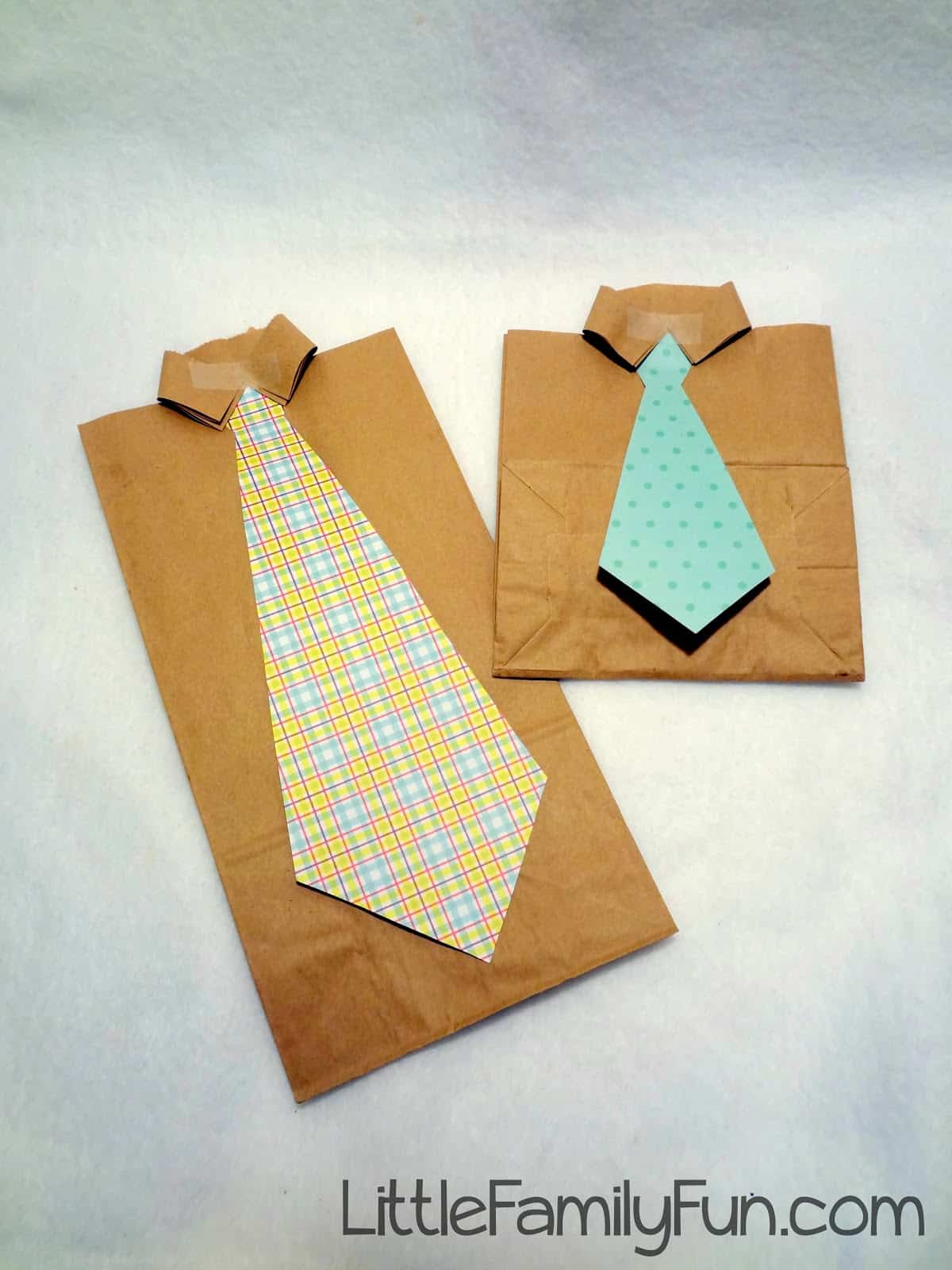 Paper bag father's day gift
