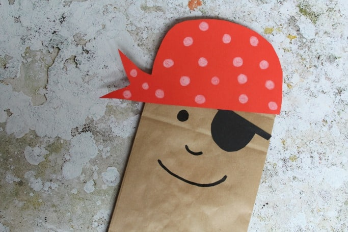 Paper bag pirate