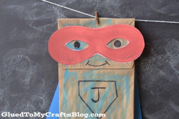 Paper bag superhero