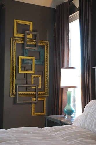 Picture frame wall art