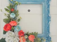 Functional and Decorative DIY Ways to Repurpose Picture Frames