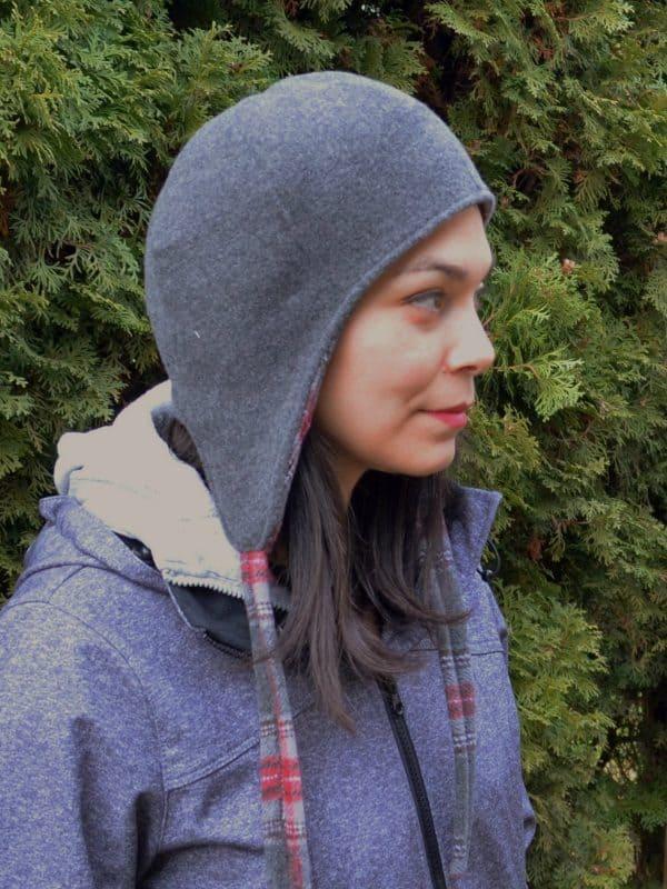 Reversible wool hat