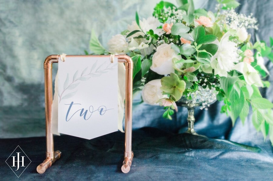 Copper pipe table numbers