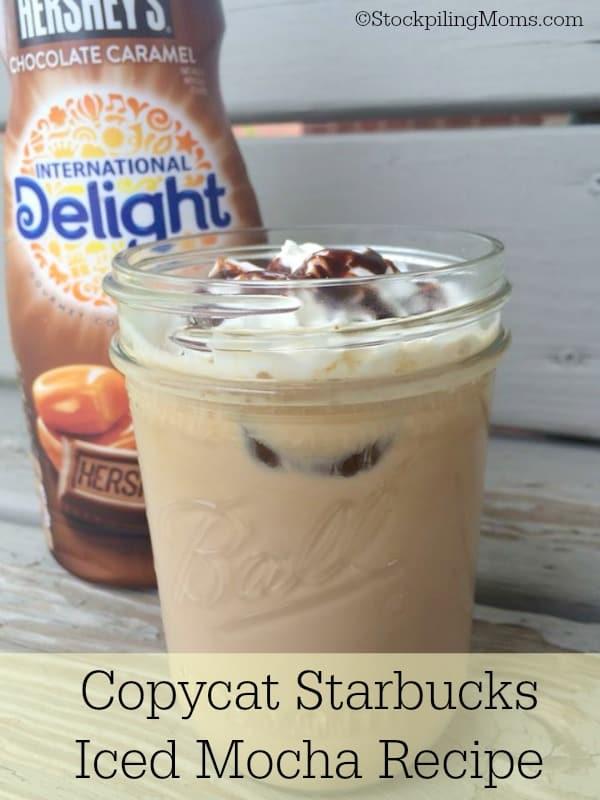 Copycat starbucks iced coffee