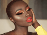 Fiery dark skin makeup 200x150 Captivating Makeup Tutorials for Dark Skin