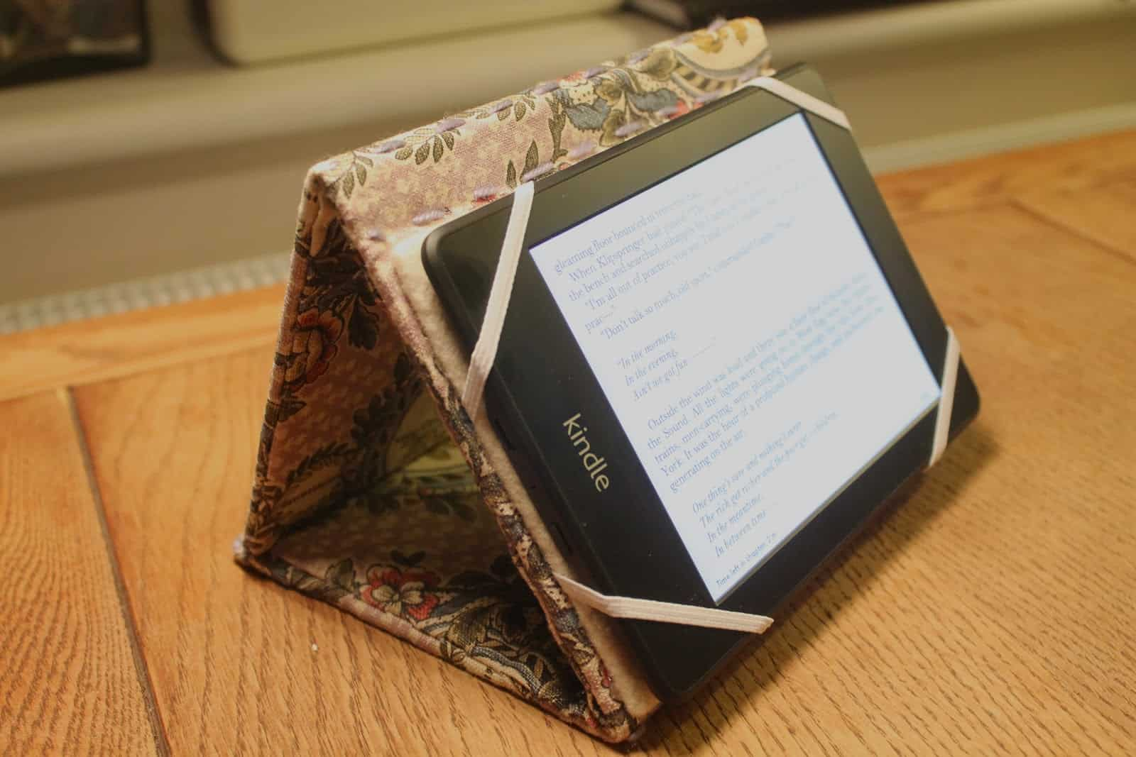 Kindle case and stand