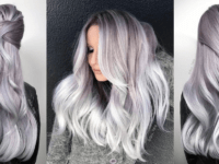 Lavender silver hair  200x150 The Hottest Beauty Trend ATM: DIY Silver Hair