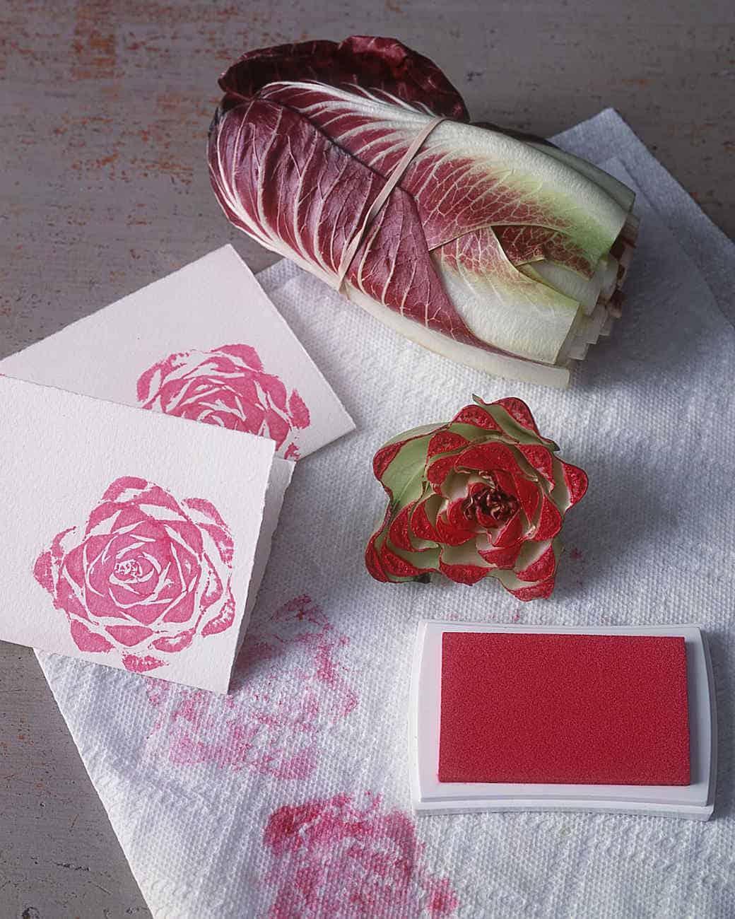 Lettuce stamps