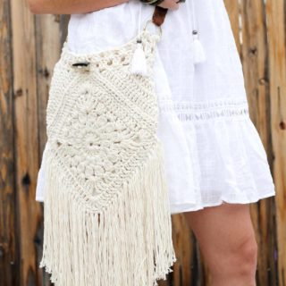 Free-Spirited and Lively: DIY Boho Purses