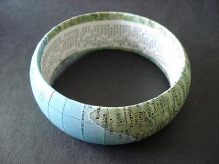 Map bangle