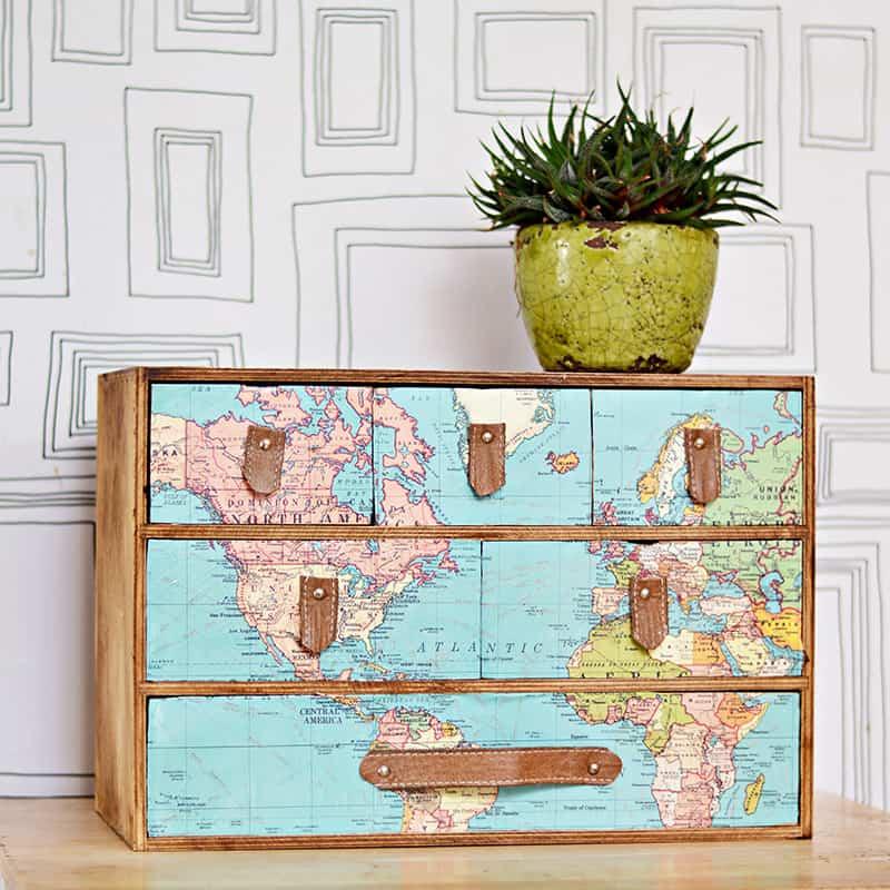 Map drawers