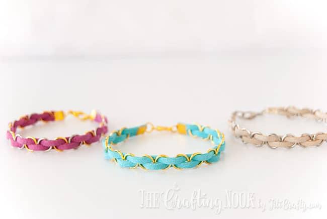 Modern braided bracelets