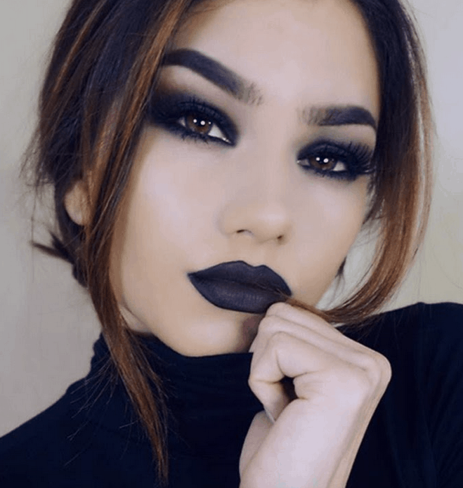 The Seductive and Mysterious Appeal of Dark Makeup