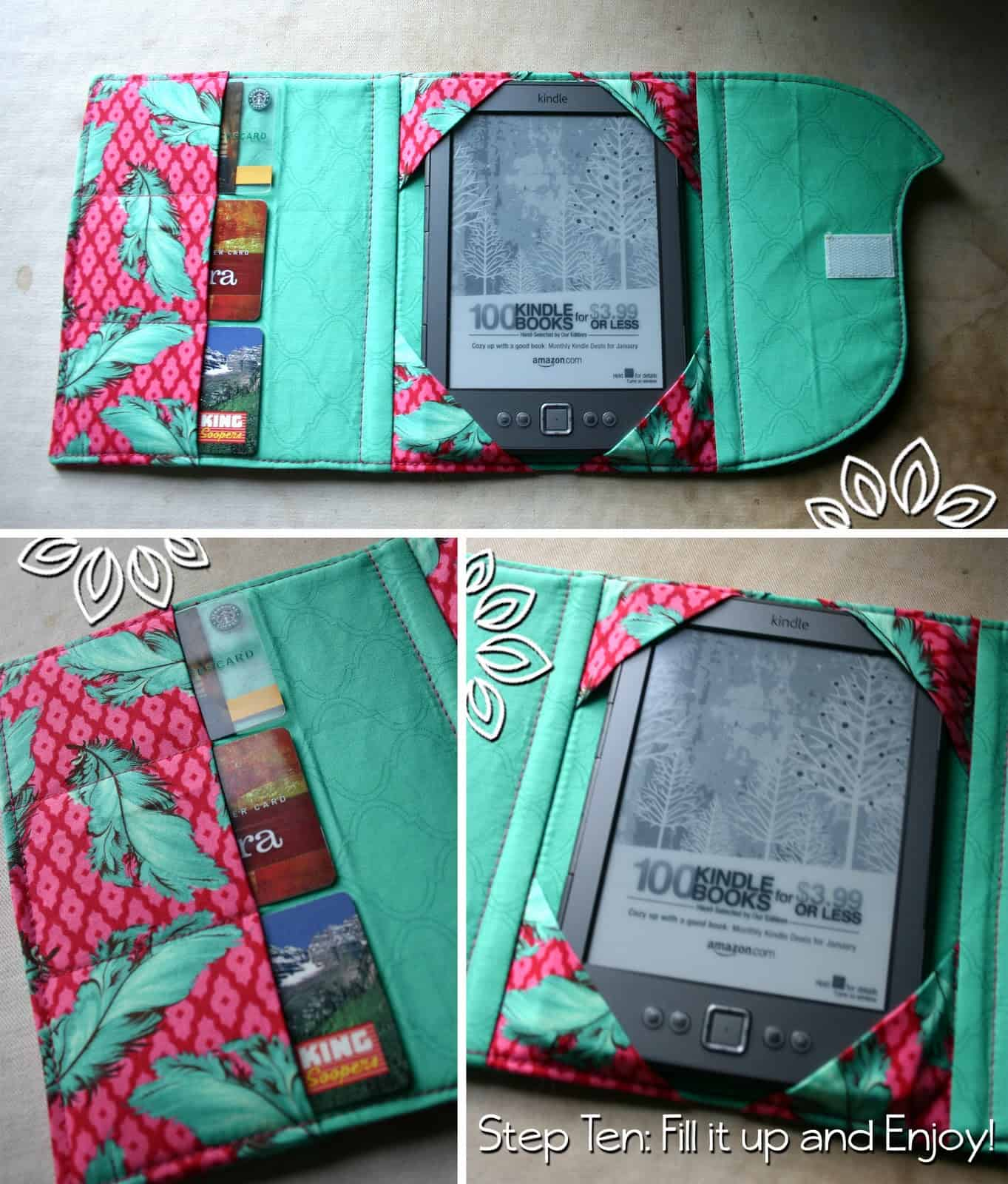 Multi-functional kindle case