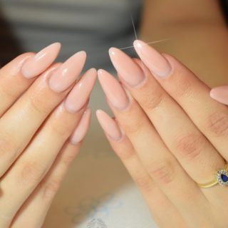 Modern and Trendy Manicure: DIY Almond Nails