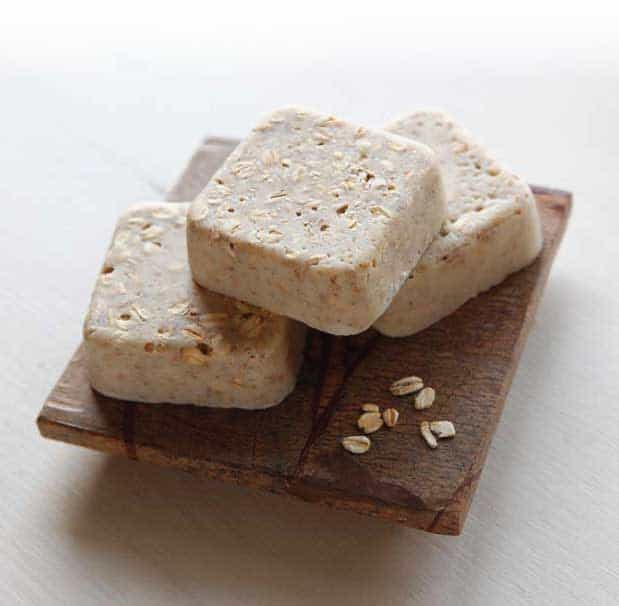 Oatmeal and buttermilk soap