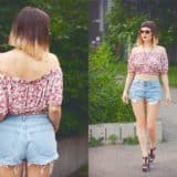 Breezy Fashion: 13 DIY Off the Shoulder Tops