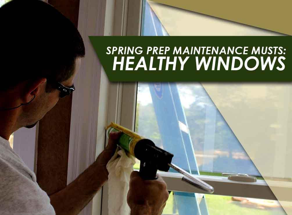 Repairing windows 15 Useful Spring Home Maintenance and Cleaning Tips
