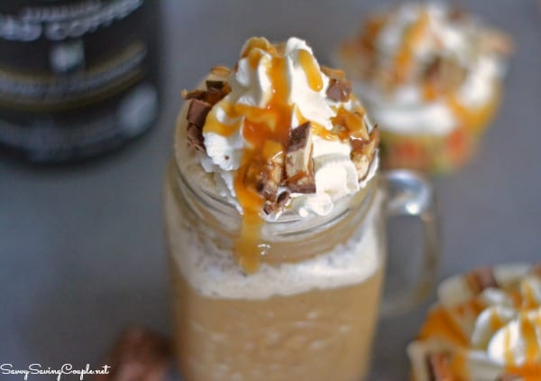 Snickers iced coffee