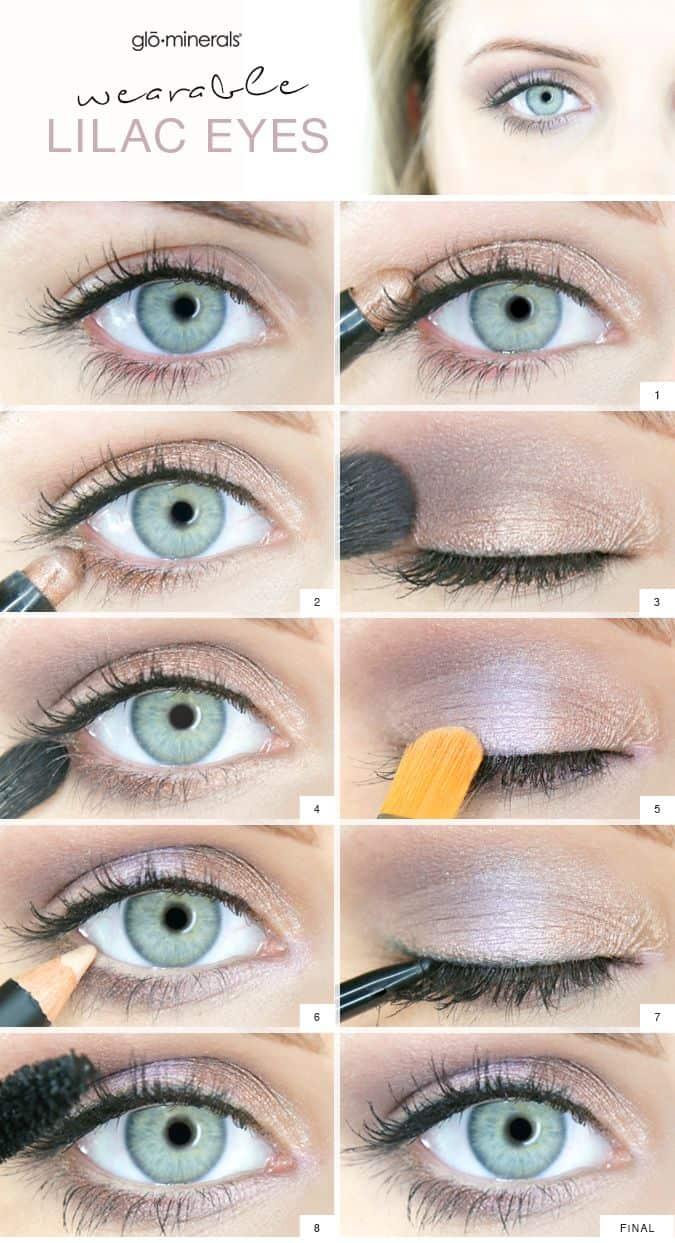 Summer lilac eyes