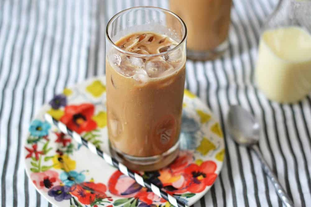 Two ingredient iced coffee