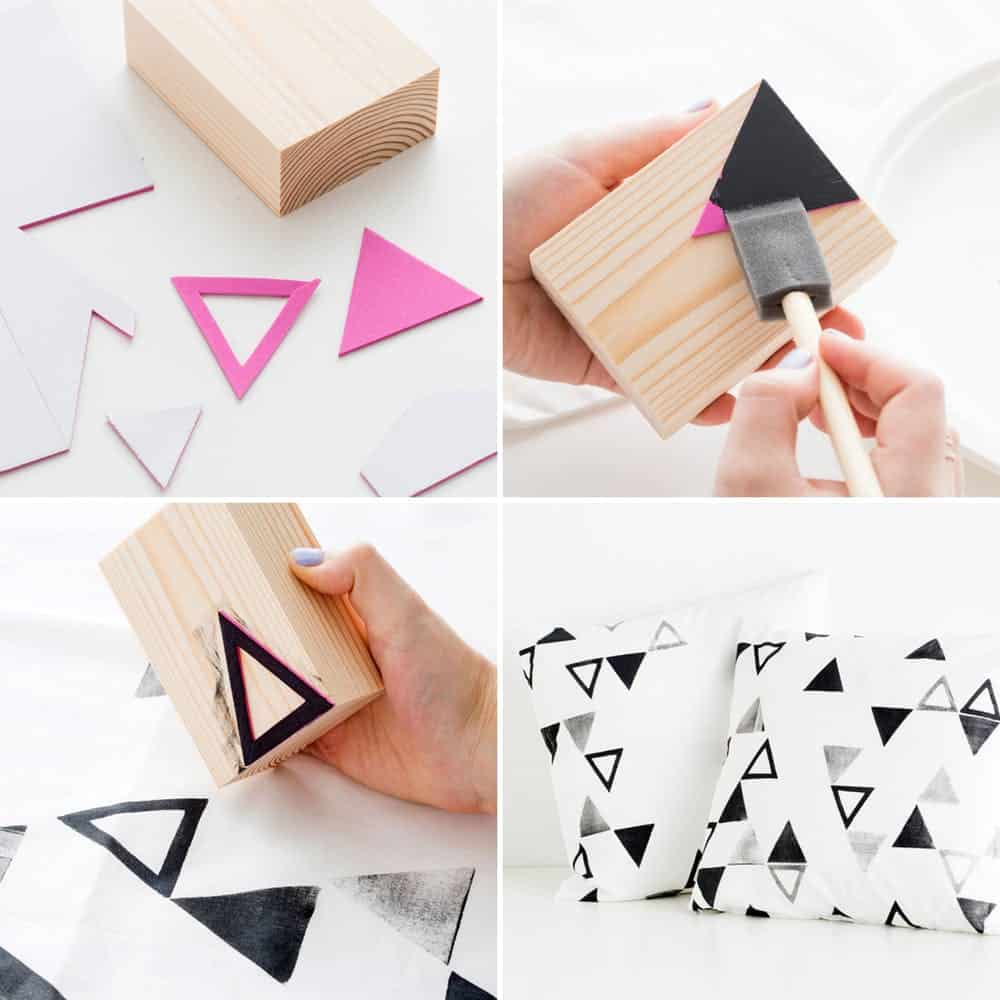 Wooden stamps