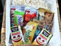 Centre console snack basket 200x150 Yummy Travel Snacks That are Great for Kids