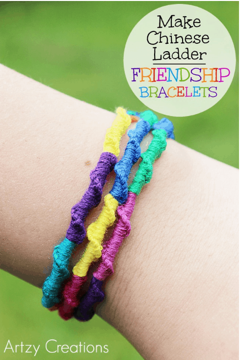 Chinese ladder style friendship bracelets