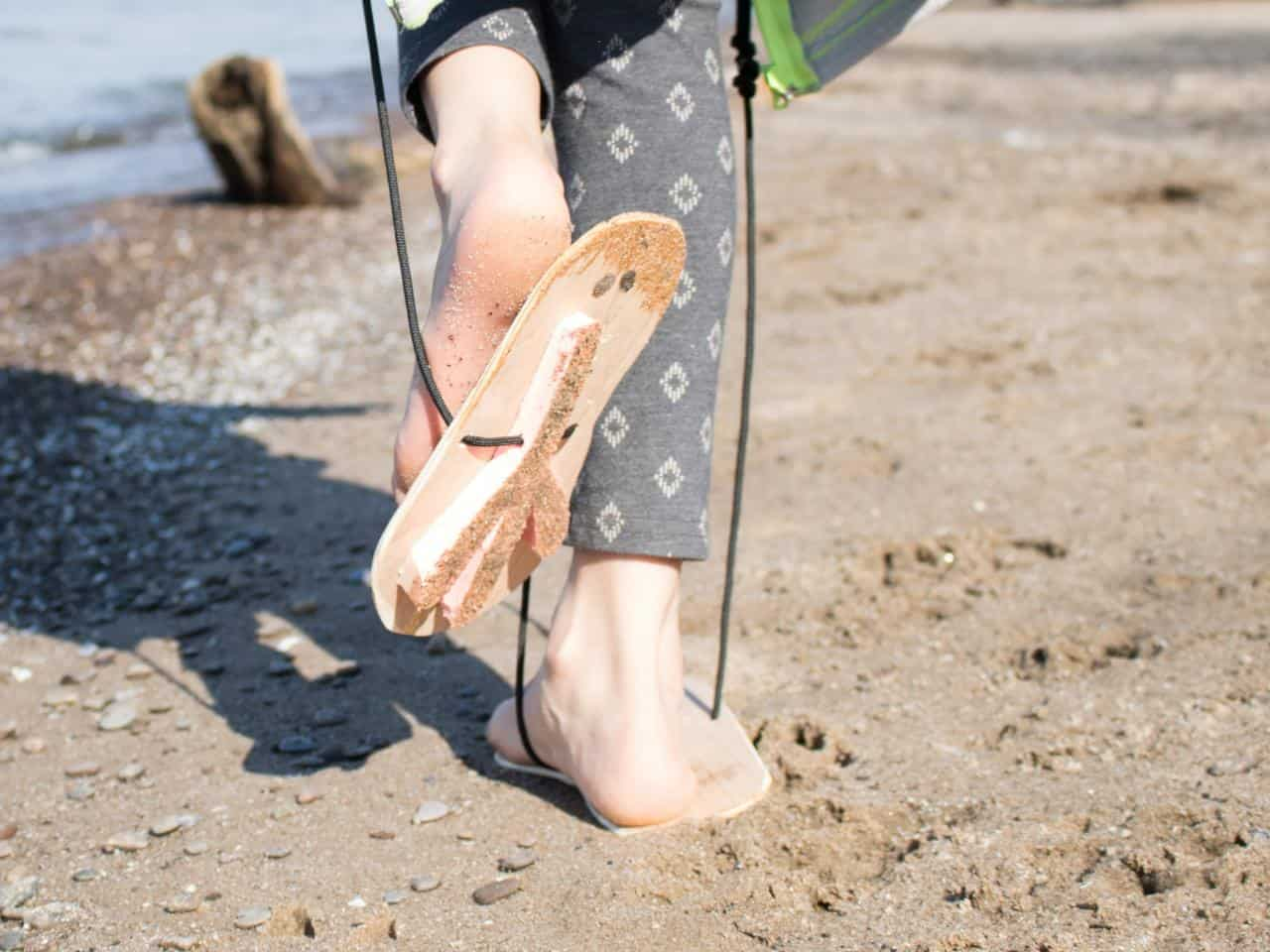 DIY animal footprints