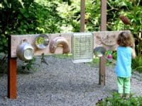 DIY outdoor sound wall 200x150 12 Tree Decor Ideas That Will Give Your Backyard Personality!