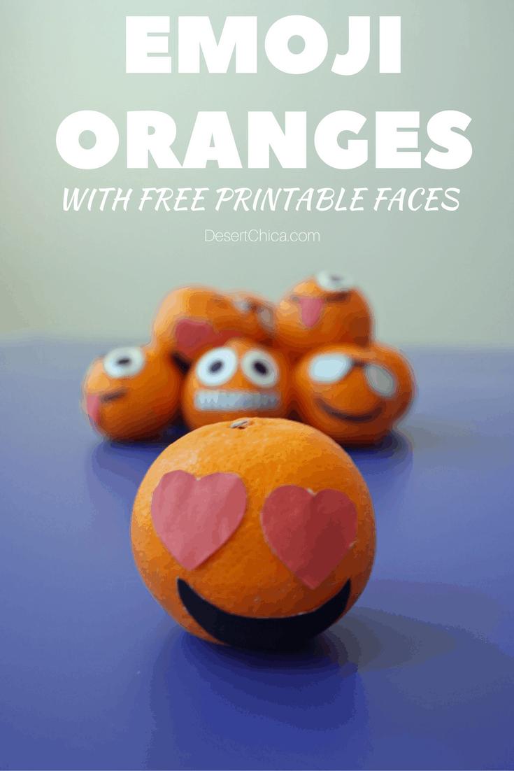 Emoji oranges