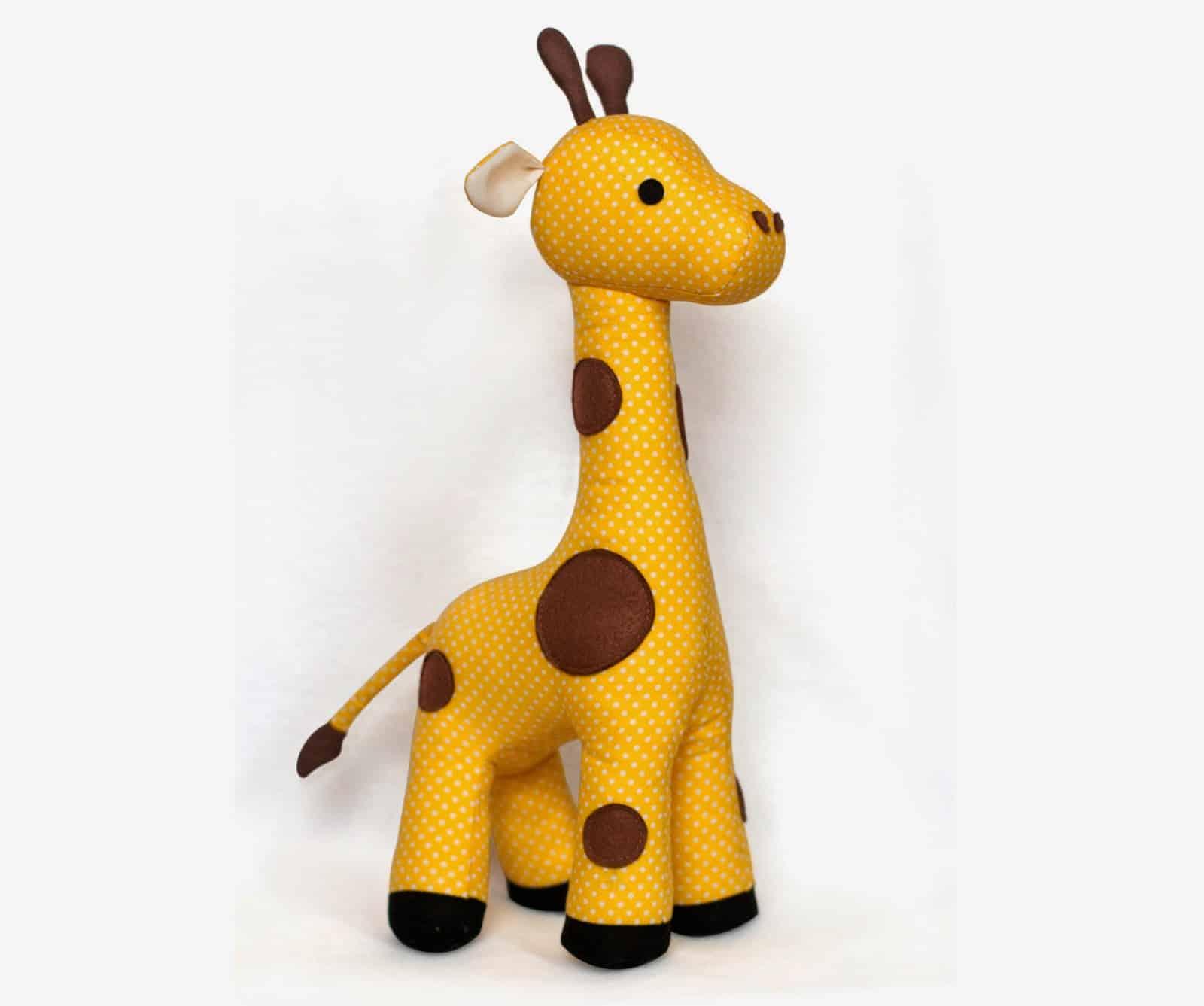 9 Giraffe Plush Toy Sewing Pattern