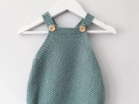 Seed stitch summer romper pattern 200x150 Beyond Winter: 15 Pretty Knitting Patterns for Summer Babies