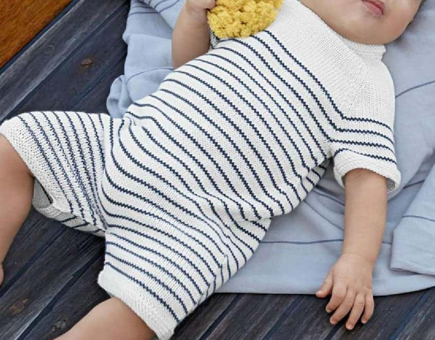 58eafeee2 Beyond Winter  15 Pretty Knitting Patterns for Summer Babies