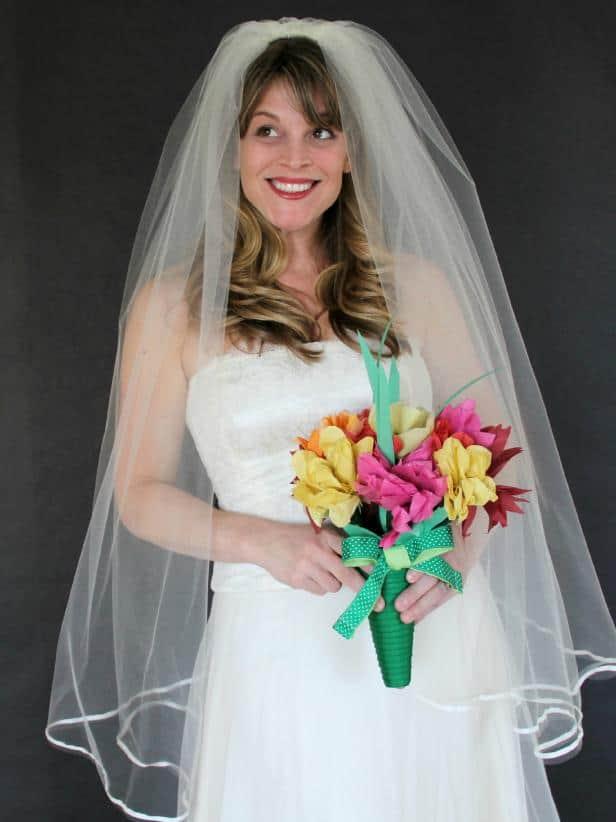 The classic wedding veil