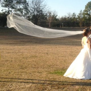 Here Comes the Bride: DIY Wedding Veils