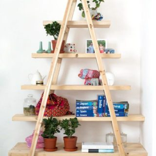 Finding Space with Creativity: 14 Smart Homemade Bookshelves