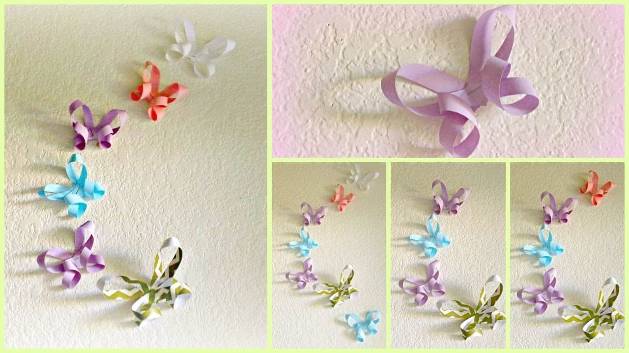 DIY paper butterfly: photos, schemes and patterns. How to make a paper butterfly 87