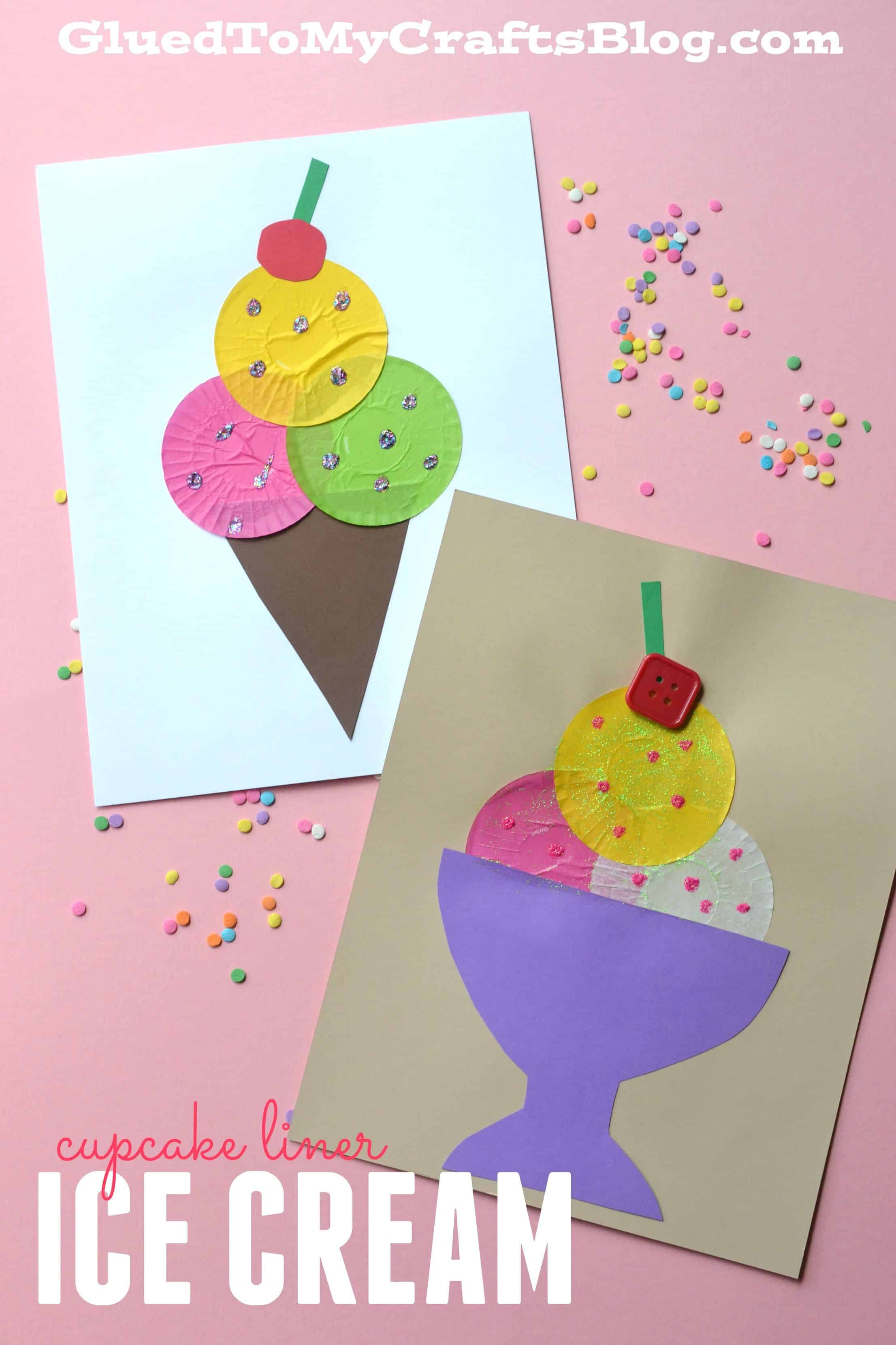 Colourful cupcake liner pictures