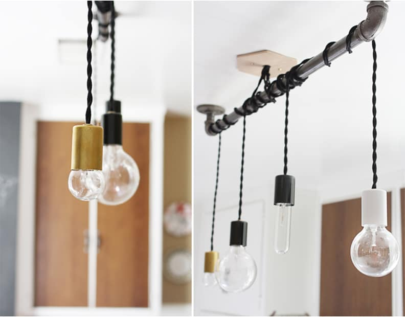 Diy Pendant Lighting Ceiling Light Box Diy Metal Pipe Pendant Lights Wonderful Diy Illuminate It Your Way 15 Fantastic Diy Pendant Lights