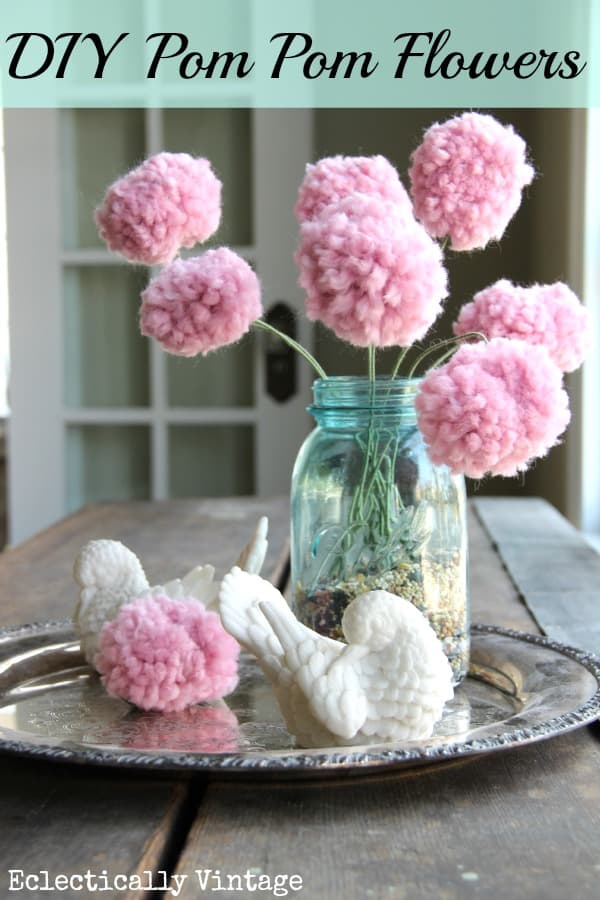 Unleash Cuteness 15 Fuzzy Diy Projects Made With Pom Poms