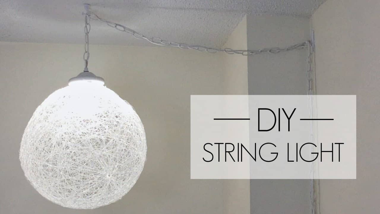 DIY string light