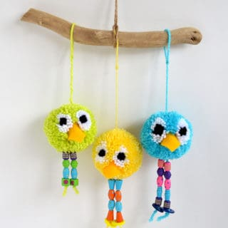 Unleash Cuteness: 15 Fuzzy DIY Projects Made With Pom Poms